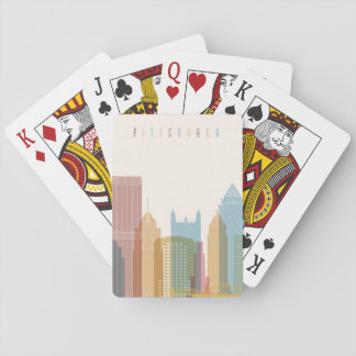 Pittsburgh, Pennsylvania | City Skyline Playing Cards