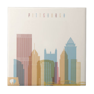 Pittsburgh, Pennsylvania | City Skyline Tile