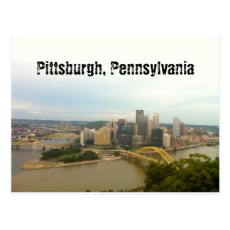 Pittsburgh, Pennsylvania Postcard