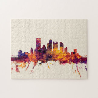 Pittsburgh Pennsylvania Skyline Jigsaw Puzzle