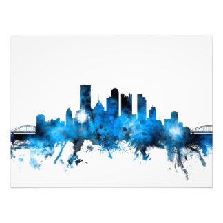 Pittsburgh Pennsylvania Skyline Art Photo