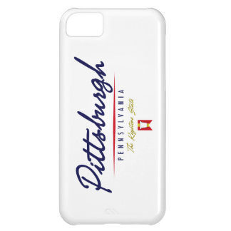 Pittsburgh Script Case For iPhone 5C
