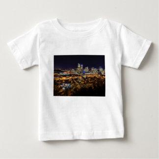 Pittsburgh Skyline at Night Baby T-Shirt