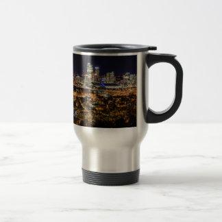 Pittsburgh Skyline at Night Travel Mug