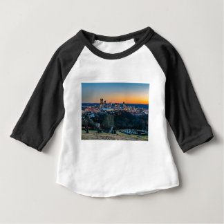 Pittsburgh Skyline at Sunset Baby T-Shirt