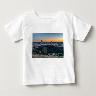 Pittsburgh Skyline at Sunset Baby T-Shirt