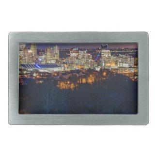 Pittsburgh Skyline at Sunset Belt Buckle