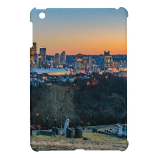 Pittsburgh Skyline at Sunset iPad Mini Cover