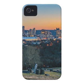 Pittsburgh Skyline at Sunset iPhone 4 Case-Mate Case