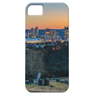 Pittsburgh Skyline at Sunset iPhone 5 Cover