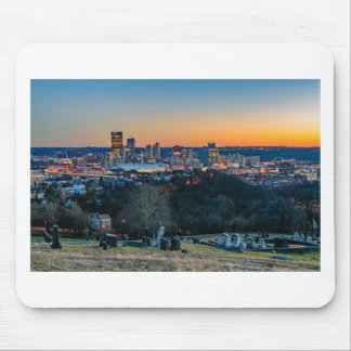 Pittsburgh Skyline at Sunset Mouse Pad