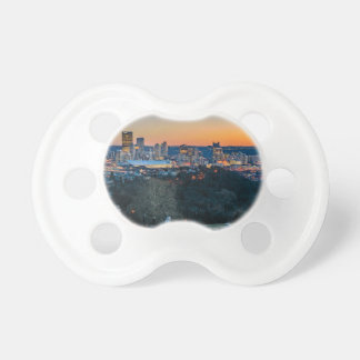 Pittsburgh Skyline at Sunset Pacifier