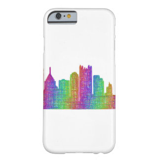 Pittsburgh skyline barely there iPhone 6 case