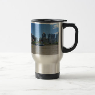 Pittsburgh skyline from PNC Park Travel Mug