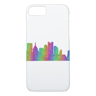 Pittsburgh skyline iPhone 8/7 case