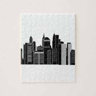 Pittsburgh Skyline Jigsaw Puzzle