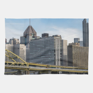 Pittsburgh Skyline Kitchen Towels