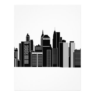 Pittsburgh Skyline Letterhead