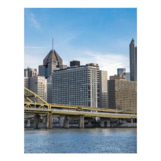 Pittsburgh Skyline Letterhead Design