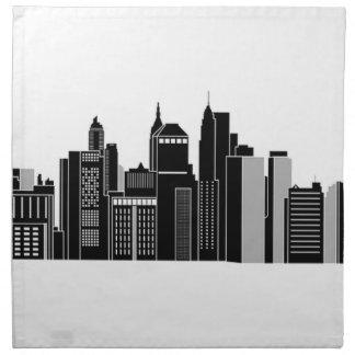 Pittsburgh Skyline Napkin