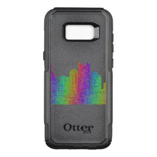 Pittsburgh skyline OtterBox commuter samsung galaxy s8+ case