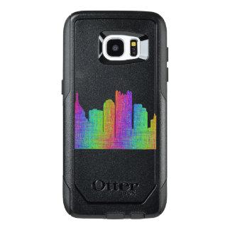 Pittsburgh skyline OtterBox samsung galaxy s7 edge case