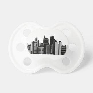 Pittsburgh Skyline Pacifier