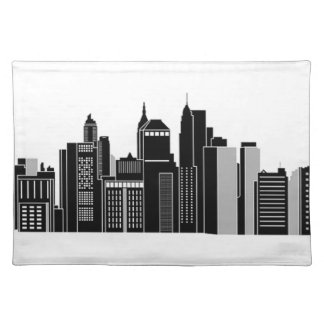 Pittsburgh Skyline Placemat