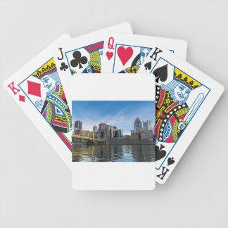 Pittsburgh Skyline Poker Deck