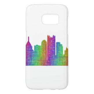 Pittsburgh skyline samsung galaxy s7 case