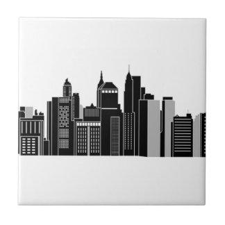 Pittsburgh Skyline Tile