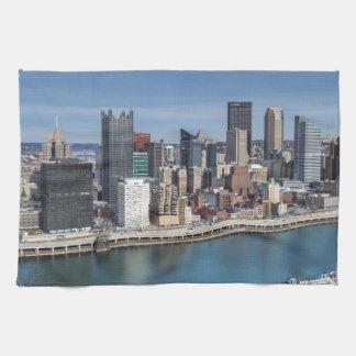 Pittsburgh Skyline Towels