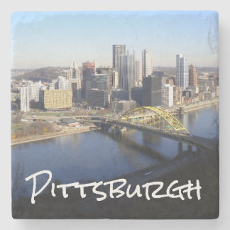 Pittsburgh Stone Coaster