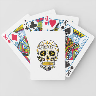 Pittsburgh Sugar Skull Bicycle Playing Cards