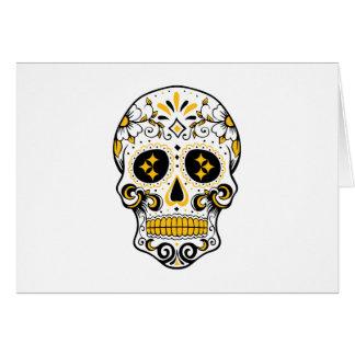 Pittsburgh Sugar Skull Card