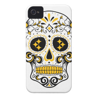 Pittsburgh Sugar Skull iPhone 4 Case-Mate Case