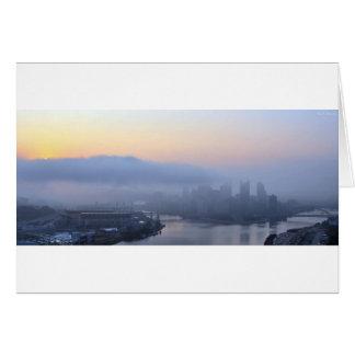Pittsburgh Sunrise Card