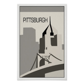Pittsburgh Travel Poster