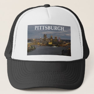 pittsburgh trucker hat