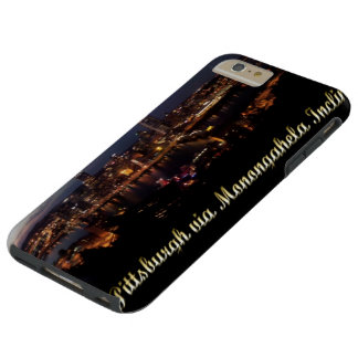 Pittsburgh via Monongahela Incline at Night Tough iPhone 6 Plus Case