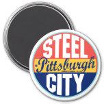 Pittsburgh Vintage Label Refrigerator Magnet