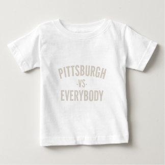 Pittsburgh Vs Everybody Baby T-Shirt