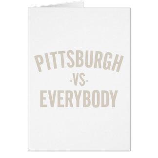 Pittsburgh Vs Everybody Card
