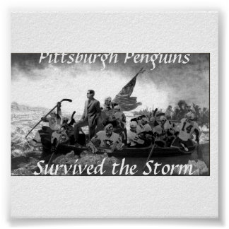 pittsburghpens, Pittsburgh Penguins, Survived t... Print