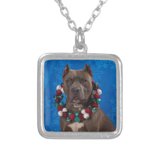 Pitty Christmas Silver Plated Necklace
