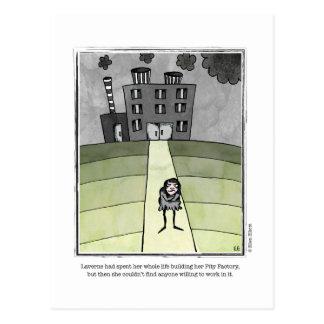 PITY cartoon by Ellen Elliott Postcard