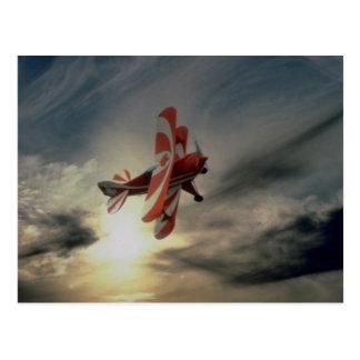 Pitz Special, single seat aerobatic aircraft Postcard