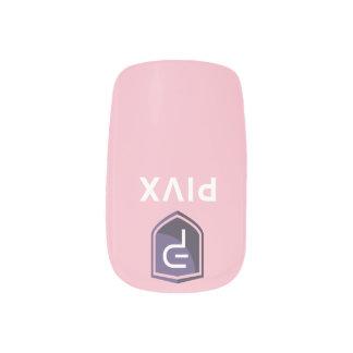 PIVX Color Pink Nails Minx Nail Art