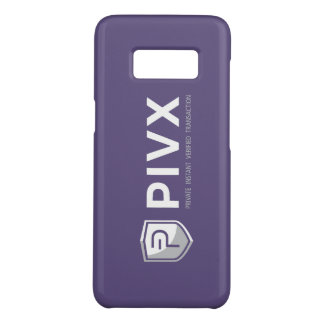 PIVX Purple Phone Case Samsung Galaxy S8