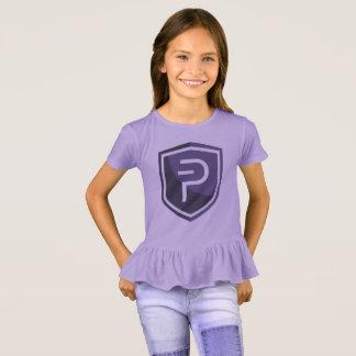 PIVX Purple Ruffle T-Shirt